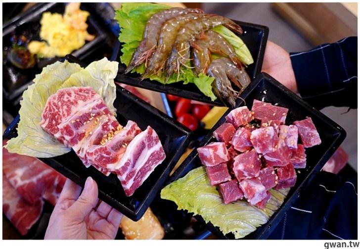 20201215213409 38 - 熱血採訪|台中韓式烤肉吃到飽!烤肉、熱湯、小菜任你吃最低只要369元,周年慶期間還免收服務費~
