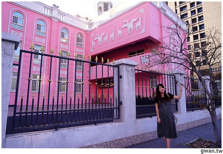 20210213230845 26 - 以為在國外!台中超夢幻的粉紅城堡居然是幼兒園~