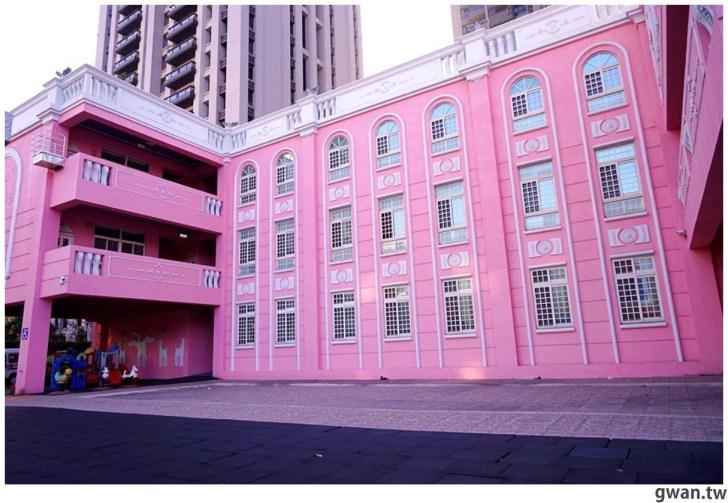 20210213230854 70 - 以為在國外!台中超夢幻的粉紅城堡居然是幼兒園~