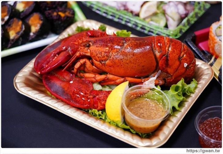 fc92b7a07add1d2a18124f5d52302d31 - 熱血採訪 台中最大海鮮超市!泰國蝦超便宜,烤肉串燒通通買的到!