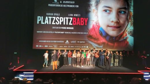 Movie premiere Platzspitzbaby Luna Vock first supporting role