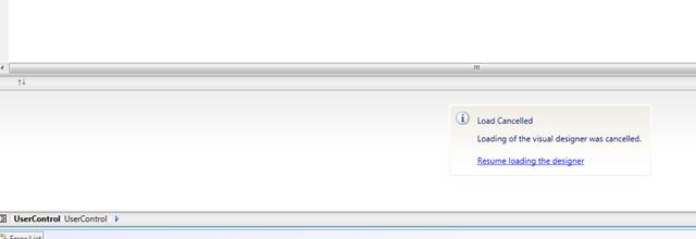 Restoring the Design View for XAML files in Visual Studio