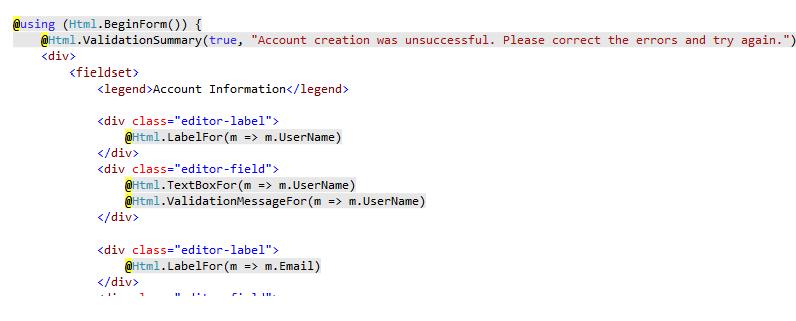 Exploring ASP.Net MVC 3 Razor View Engine and Syntax Highlighting