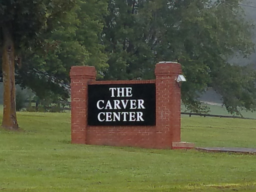 Culpeper County Installs New Sign for The Carver Center