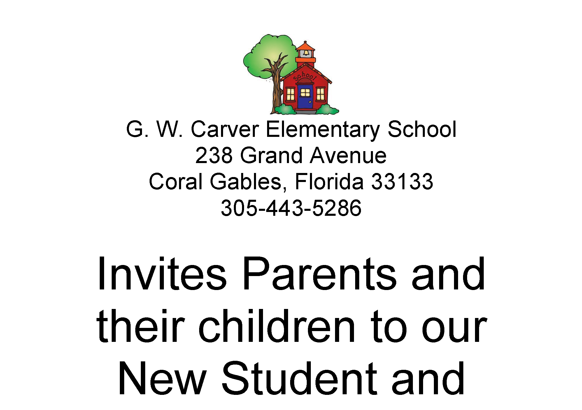 Gwces Transition To Kindergarten Flyer George