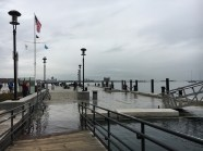 """On November 15 and 16 of this year, Boston experienced a """"King Tide,"""" the highest tide of the year, as a result of the recent """"supermoon."""" The water rose up to 12.5 feet above sea level and washed over many of Boston's coastal neighborhoods, including downtown's Long Wharf."""