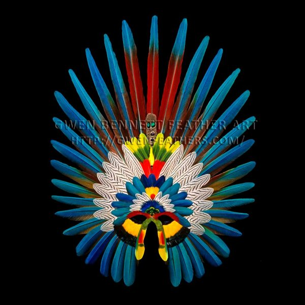 Aztec Mask Feathers