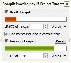 Making progress (Windows)