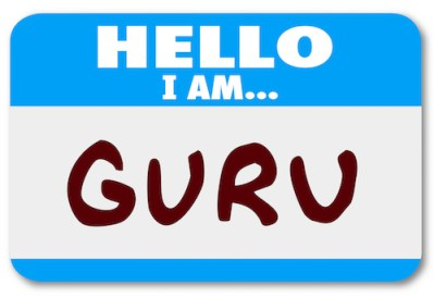 Guru name badge