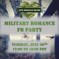 Military Romance FB Party graphic