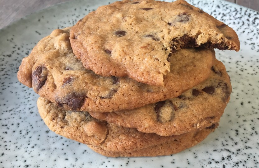 Chocolate chip cookies Gwenn's Bakery Amsterdam