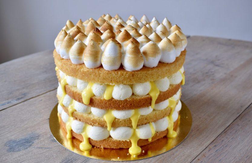 Naked Caked Citroen Meringue - Gwenn's Bakery