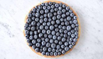 Tarte aux Myrtilles (bosbessentaart) - Gwenn's Bakery
