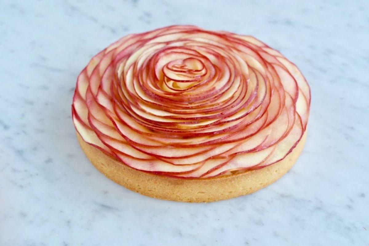 Appel rozentaart