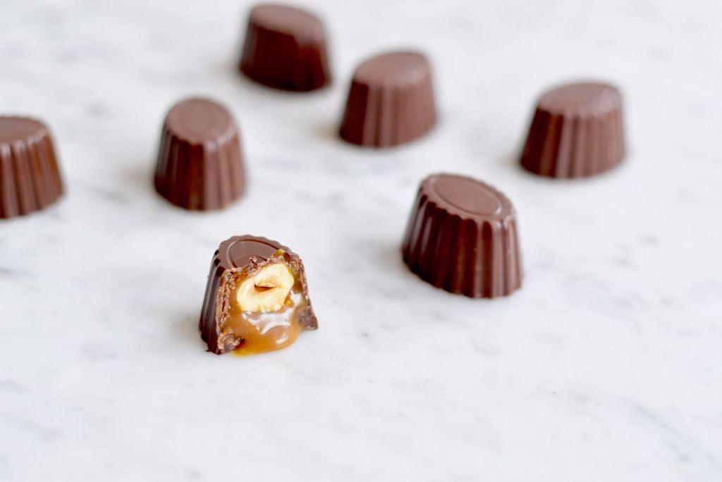 Bonbons met gezouten karamel - Gwenn's Bakery