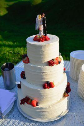Bruidstaart - Gwenn's Bakery