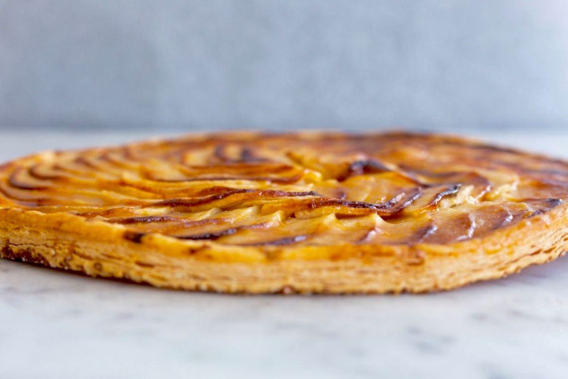 Tarte fine aux pommes - Gwenn's Bakery