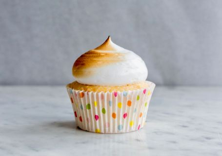 Citroen meringue cupcakes - Gwenn's Bakery