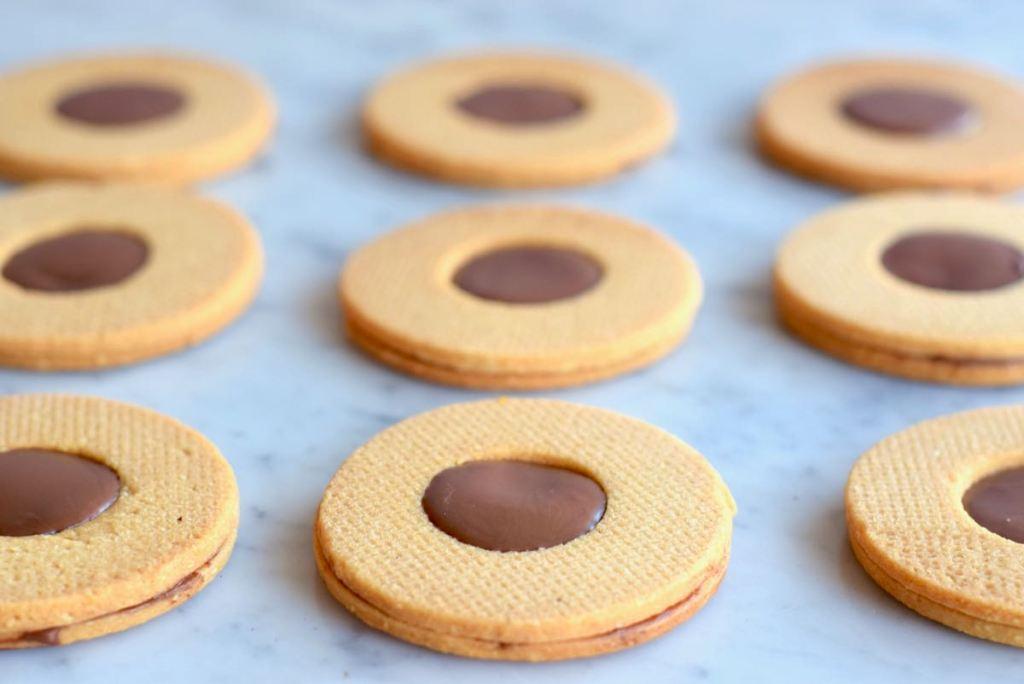 Nutella koekjes - Gwenn's Bakery