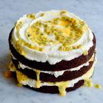 Chocolade en passievruchttaart - Gwenn's Bakery