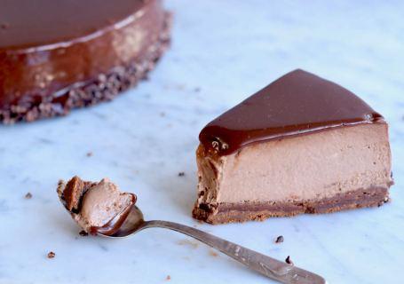 Nutella cheesecake - Gwenn's Bakery