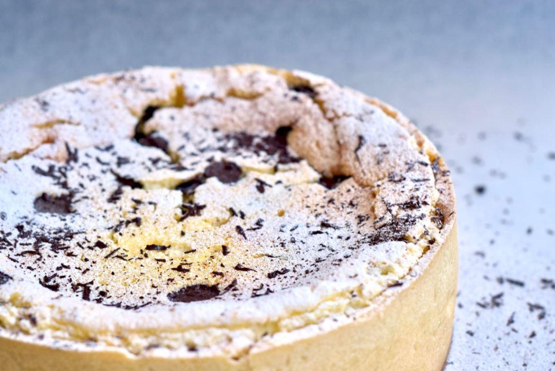 Italiaanse ricottataart met chocolade - Gwenn's Bakery