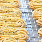 Vegan Sesam-sinaasappelspritsen - Gwenn's Bakery