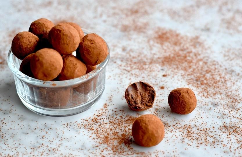 Vegan chocoladetruffels - Gwenn's Bakery