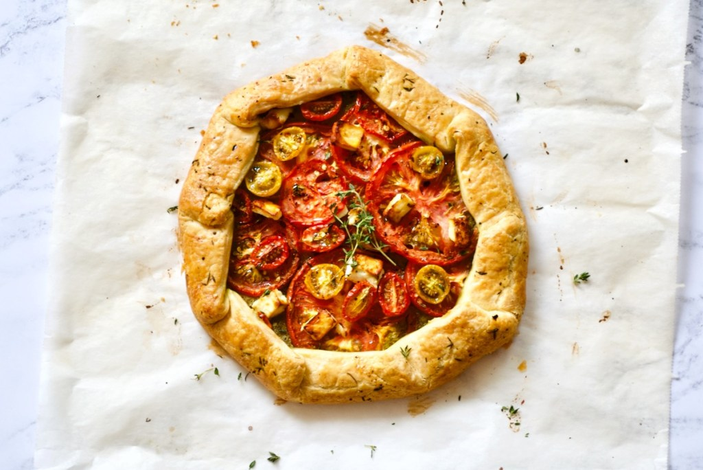 Tomatengalette met feta en tijm - Gwenn's Bakery