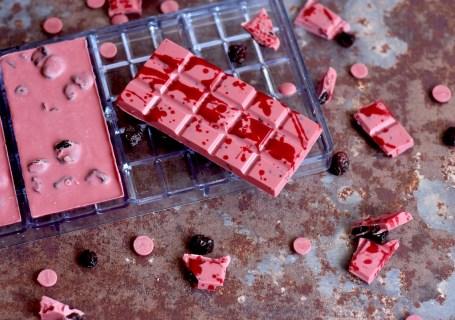 Ruby chocoladereep met cranberry - Gwenn's Bakery