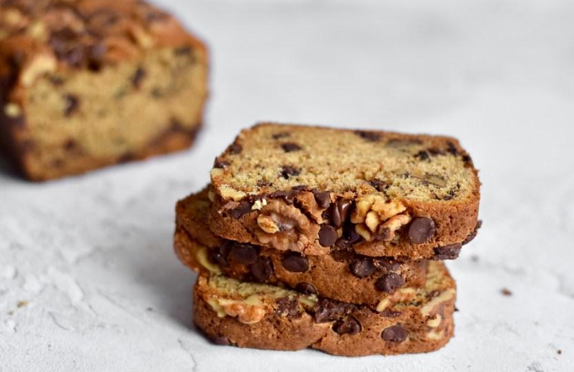 Chocolate chip banana bread - Gwenn's Bakery