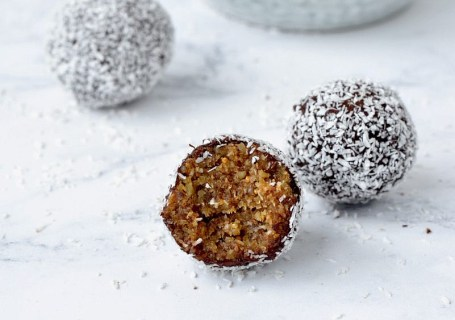 Vijg en walnoten bliss balls - Gwenn's Bakery