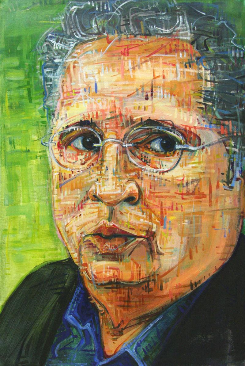 Jim Donovan Kgw : donovan, Donovan, Portrait, Portland, Artist, Gwenn, Seemel