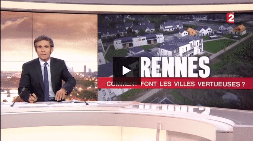 Politique du logement à Rennes (Journal de France2)