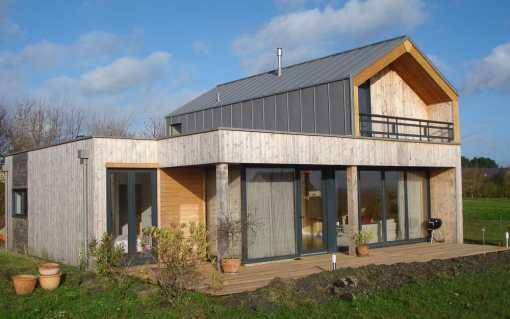 Maison écologique D.
