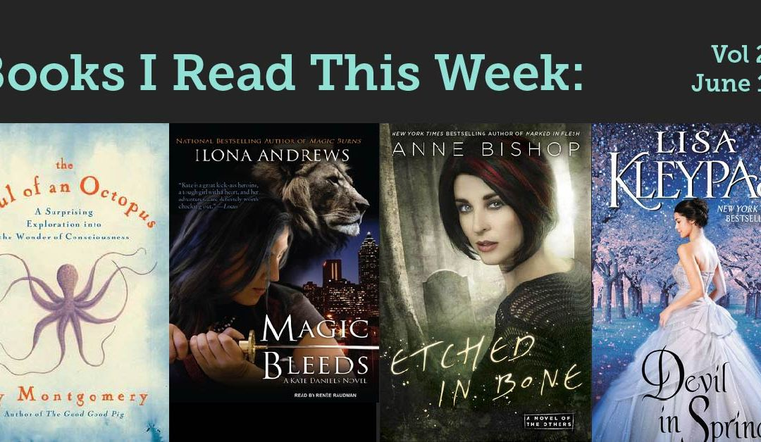 Books I read this week: Vol 22, June 10