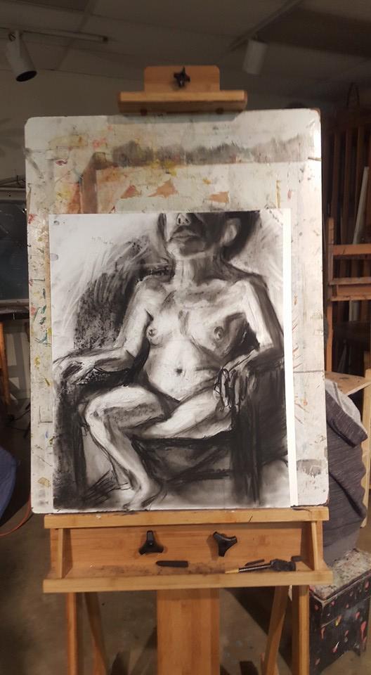 Squat Figure Drawing