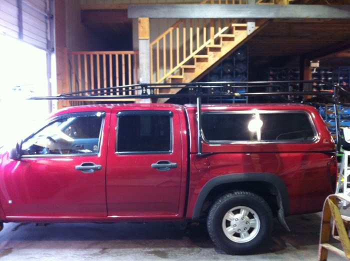 Custom Over-Cab Rack System