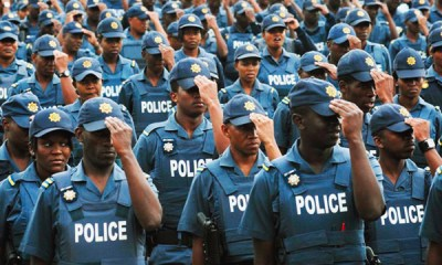 570 S. African police officers succumb to COVID-19
