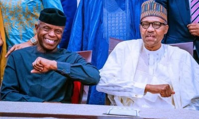 Buhari Celebrates 'A Reliable Deputy' Osinbajo @ 64