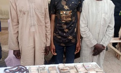 Police Arrest Three Members Of A Notorious Bandit Syndicate In Katsina, Recover N3.6m Ransom
