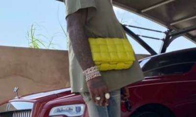 Burna Boy Mocked Over His New Women's Handbag
