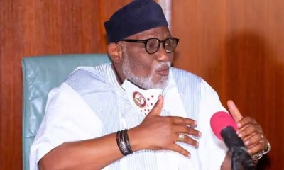 Akeredolu Threatens To Embarrass Ajayi Over Failure To Return Govt Vehicles