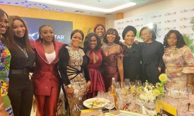 See Group Photo Toyin Abraham Posted That Has Top Celebrities In it