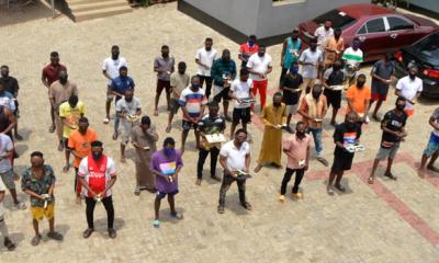 Photo: EFCC Arrests 33 Suspected Internet Fraudsters In Abeokuta