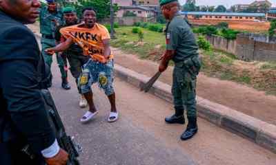 Traffic robbers Lagos
