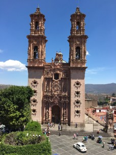 The Zocalo in Taxco