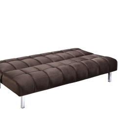 Mexico Futon Sofa Bed With Mattress Chocolate Sleek Wooden Designs Gradschoolfairs