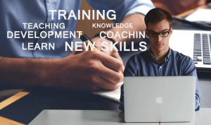 An image of staff training and development