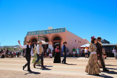 Tombstone Parade Historic Costumes